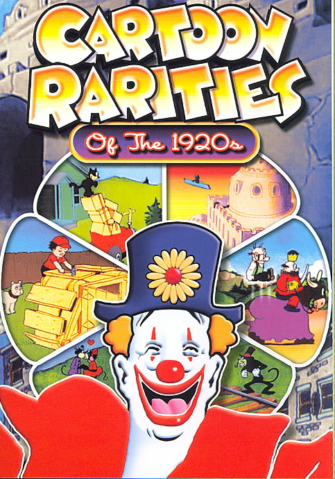 CARTOON RARITIES OF THE 1920'S (DVD)
